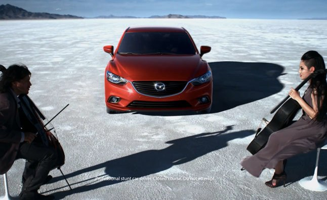 Mazda6 Drives on Salt Flats in New Commercial