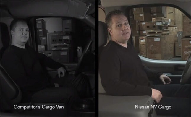 Nissan NV Cargo Van Compared to the Competition – Video