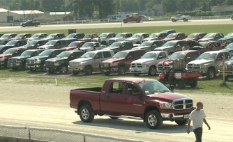 273-Strong RAM Pickup Parade Set New Guinness World Record  Video