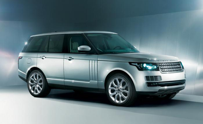 2013 Range Rover Photos Leaked