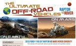 Ford F-150 Raptor Takes on Mars Rover in Ridiculous Infographic