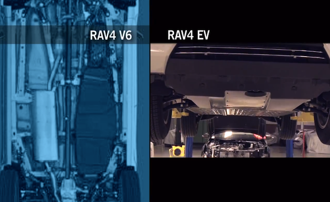 Toyota RAV4 EV Aerodynamics Detailed in Video