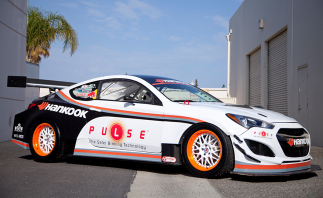 2013 Hyundai Genesis Coupe Pikes Peak Race Car Revealed