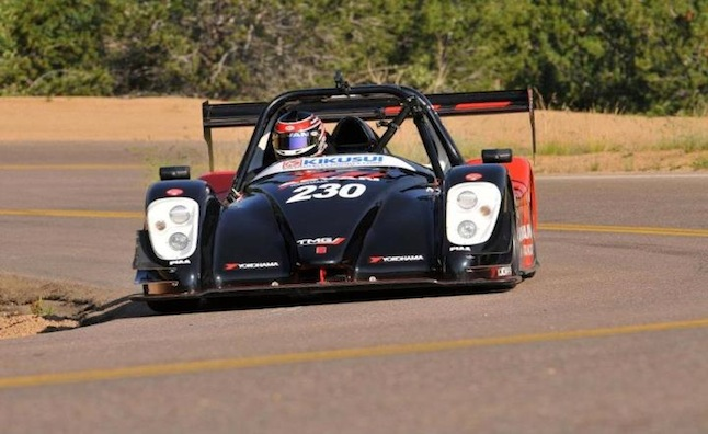 Toyota Sets New EV Pikes Peak Record