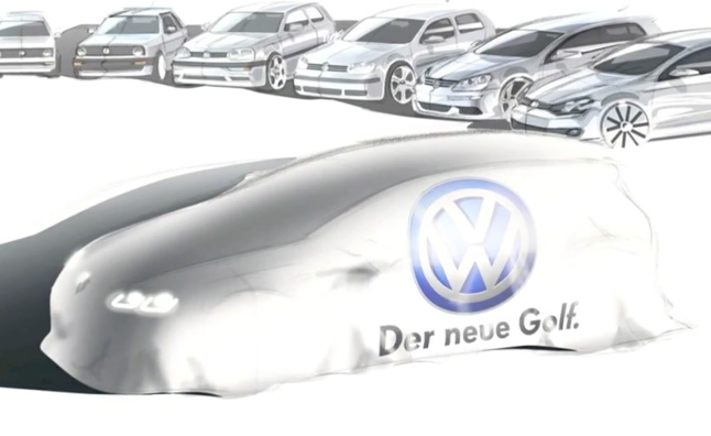 2014 Volkswagen Golf Teased – Video