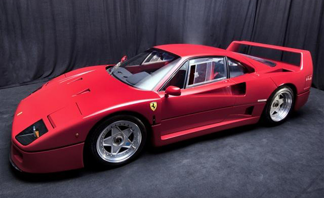 Ferrari Collection Headed to Auction After Foreclosure