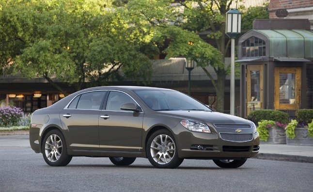 Chevrolet Malibu, Pontiac G6, Saturn Aura Recalled