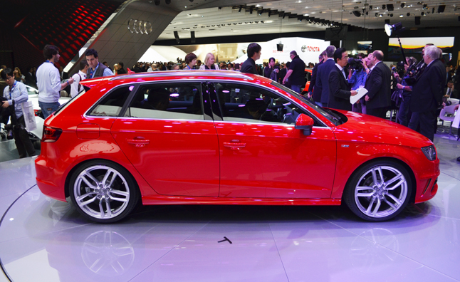 2013 Audi A3 Sportback Previews US-Bound Sedan