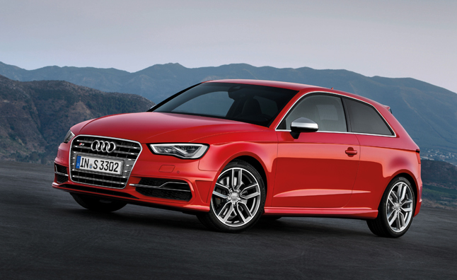 2013 Audi S3 Gains 39 HP: Paris Motor Show Preview