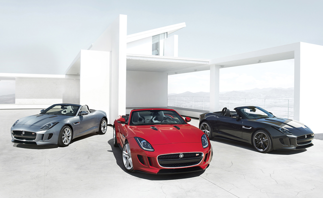 Jaguar F-Type Teased Twice More Before Paris Debut