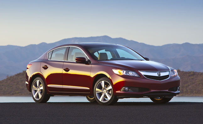 2013 Acura ILX Awarded IIHS Top Safety Pick