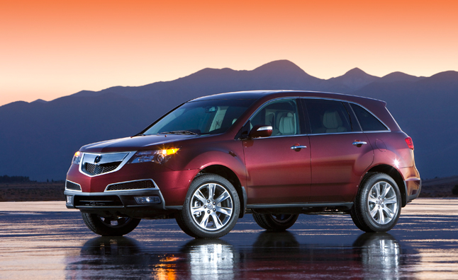 2013 Acura MDX Priced From $43,280