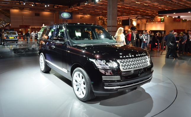 2013 Range Rover Video, First Look: 2012 Paris Motor Show