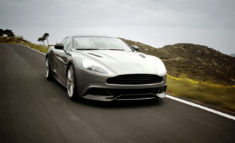 2014 Aston Martin Vanquish Exhaust Roars in Video