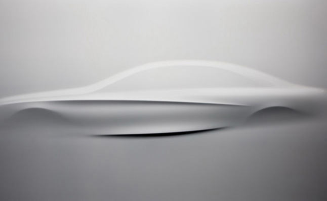 2014 Mercedes S-Class Foreshadowed by Relief Sculpture