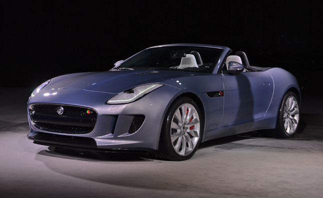 Jaguar F-Type Debuts Officially Before Paris Motor Show