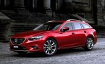2014 Mazda6 Wagon Revealed Ahead of Paris Motor Show Debut