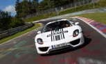 Porsche 918 Spyder Runs Red-Hot 7:14 'Ring' Lap Time