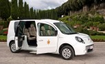 Renault Delivers Fully-Electric Popemobile to Benedict XVI