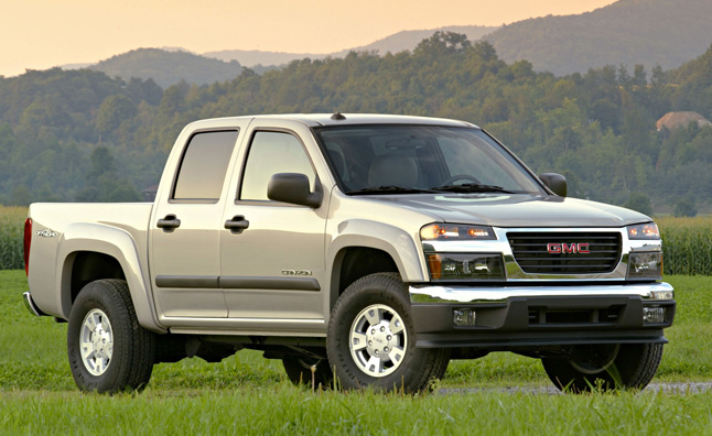 GMC Canyon Confirmed, Separate from Chevy Colorado