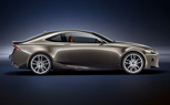 2014 Lexus IS Previewed in LF-CC Coupe Concept