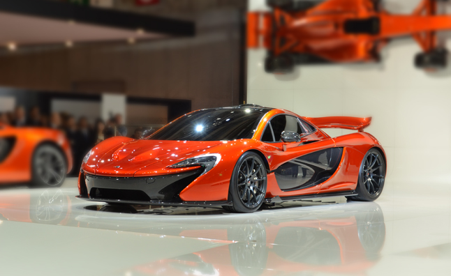 McLaren P1 is a Paris Motor 'Show Stopper'