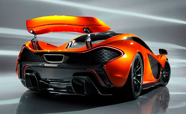 McLaren P1 New Photos Leaked Before Paris