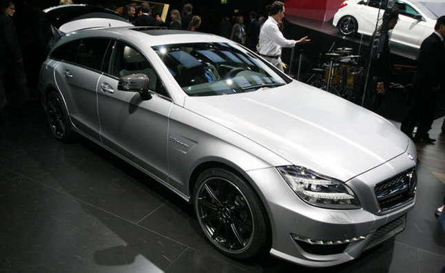 Mercedes-Benz CLS63 AMG Shooting Brake Debuts in Paris