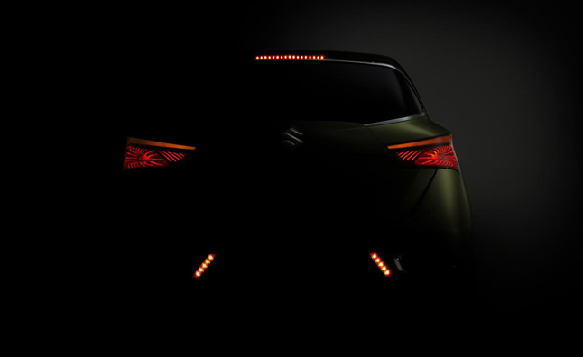 Suzuki S-Cross Concept Teased Again Before Paris Debut
