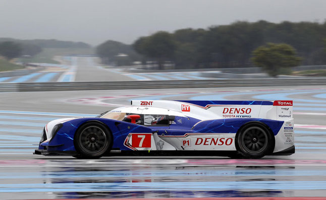Toyota TS030 Hybrid Race Car Claims First Pole Position