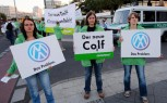 VW Golf Picketed by Greenpeace for Efficiency 'Shortfall'