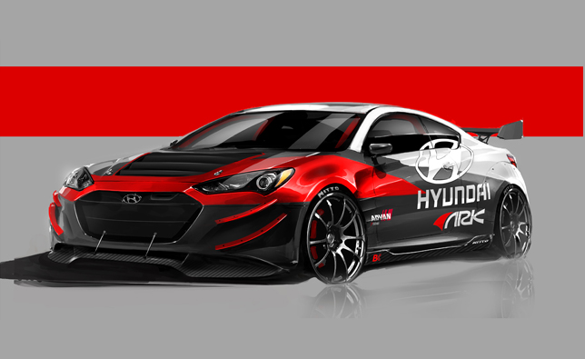 ARK Performance Genesis Coupe R-Spec SEMA-Bound