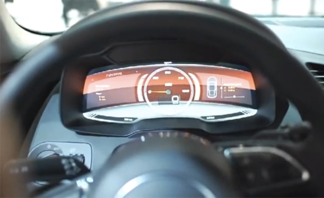 Audi R8 e-tron to Feature All Digital Instrumentation – Video