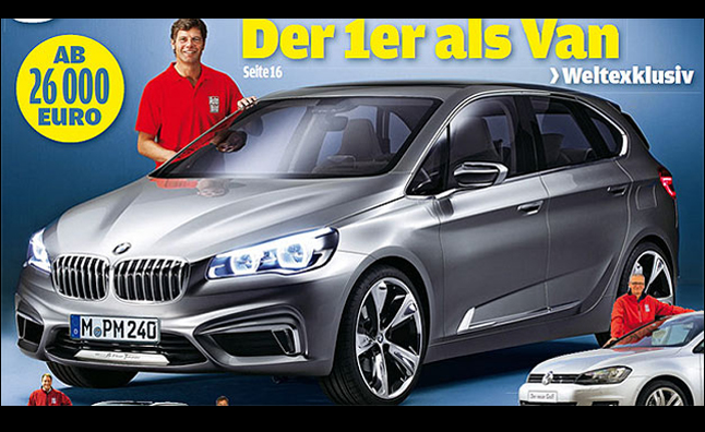 BMW 1 Series GT Leaks Through Magazine