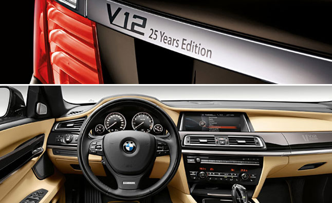 BMW Celebrates 25 Years of the V12 With Anniversary Edition 7 Series
