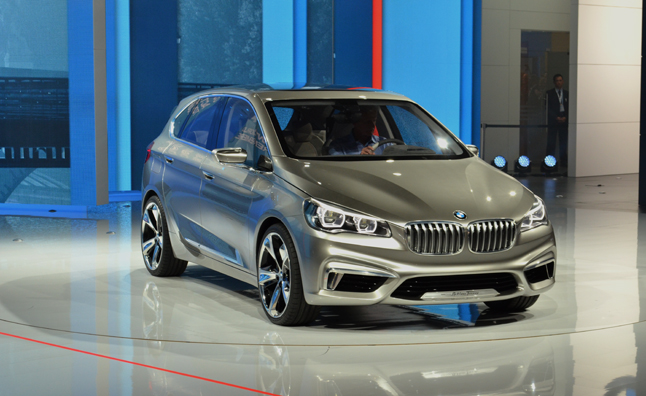 BMW Concept Active Tourer Aims for Style, Efficiency