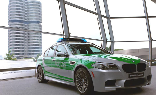 BMW M5 Police Car Concept Unveiled