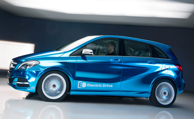 Mercedes B-Class Electric Drive Concept Heading to Paris