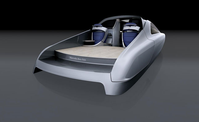 Mercedes Previews New Luxury Yacht