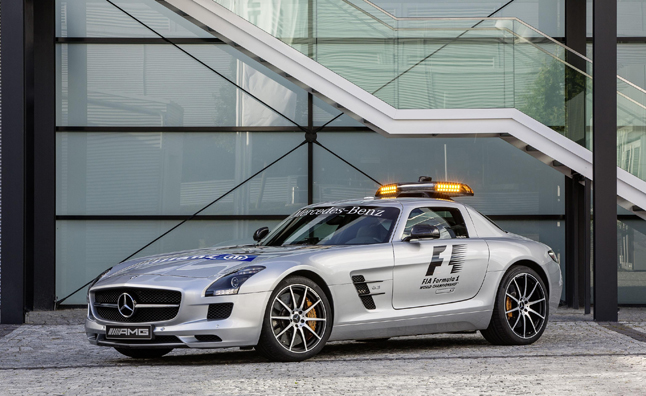 Mercedes SLS AMG GT F1 Safety Cars Gets Upgrades