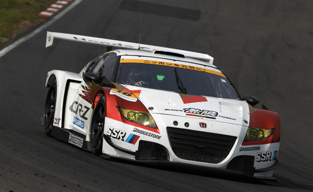 Mugen Honda CR-Z GT Race Car Hits the Track