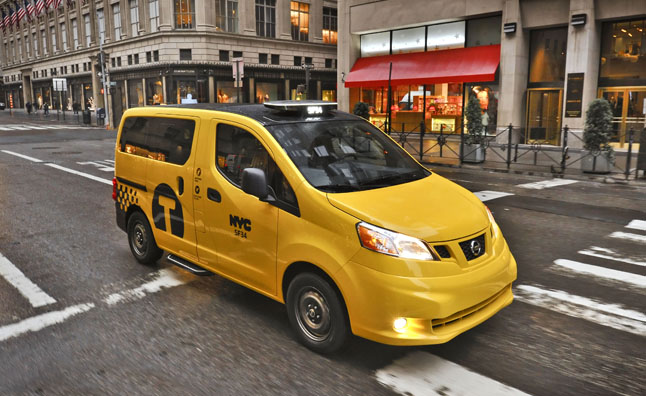 Nissan NV200 Officially Voted Exclusive New York Taxi