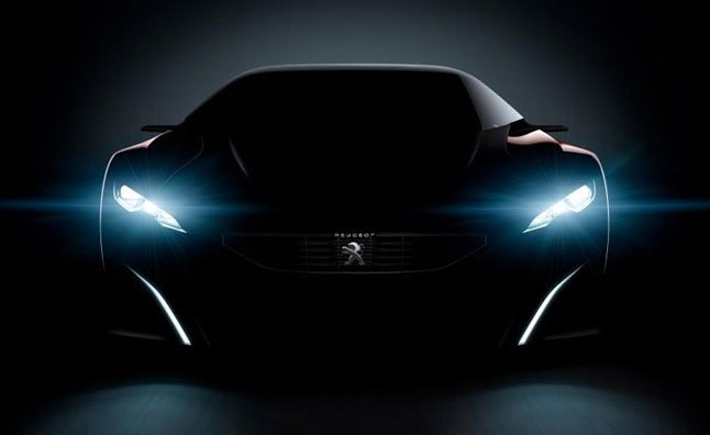 Peugeot Onyx Supercar Concept Teased Prior to Paris Motor Show Debut – Video