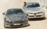 Aston Martin DBS from Bond Quantum of Solace Film Heading to Auction