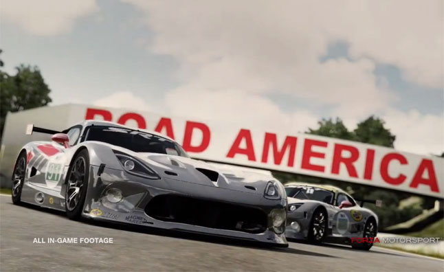 SRT Viper GTS-R Heading to Forza 4 – Video