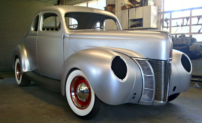 Ford Announces 1940 Coupe Body Reproduction