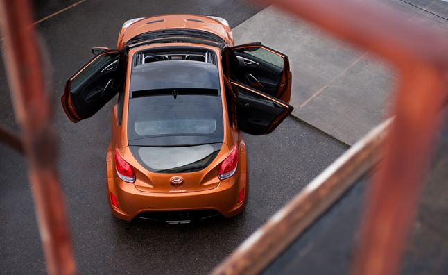 "Hyundai Veloster Under Safety Investigation for ""Exploding"" Sunroof"