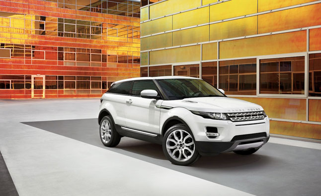Range Rover Evoque Named 2012 Women's World Car of the Year