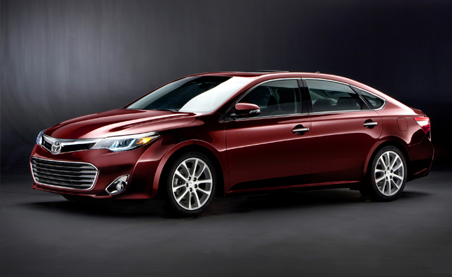 2013 Toyota Avalon Pricing Announced
