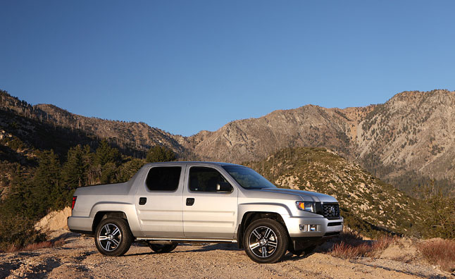 2013 Honda Ridgeline Gains Standard Backup Camera